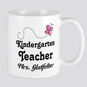 Personalized Kindergarten Teacher Mugs