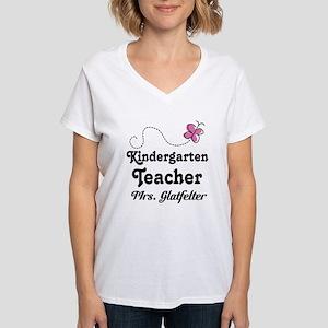 Personalized Kindergarten Teacher T-Shirt