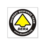 "Dera Sticker 3"" By 3"""