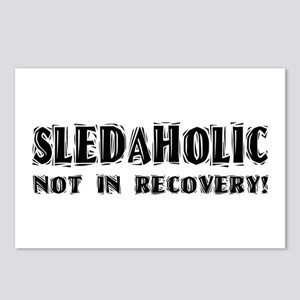Sledaholic Postcards (Package of 8)