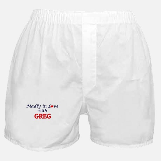 Madly in love with Greg Boxer Shorts