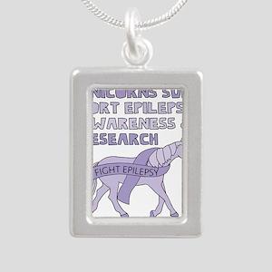 Unicorns Support Epilepsy Awareness Necklaces