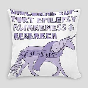 Unicorns Support Epilepsy Awarenes Everyday Pillow