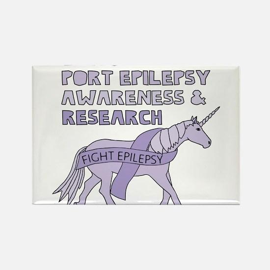Unicorns Support Epilepsy Awareness Magnets