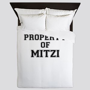 Property of MITZI Queen Duvet