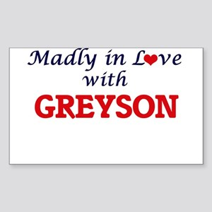 Madly in love with Greyson Sticker