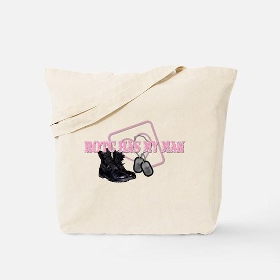 ROTC Has My Heart Tote Bag