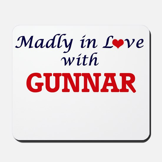 Madly in love with Gunnar Mousepad