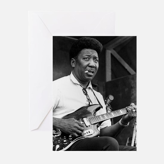 Muddy waters Greeting Cards
