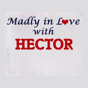 Madly in love with Hector Throw Blanket