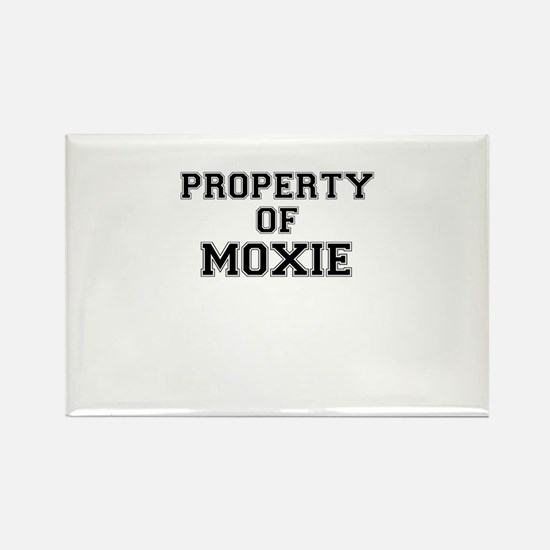 Property of MOXIE Magnets