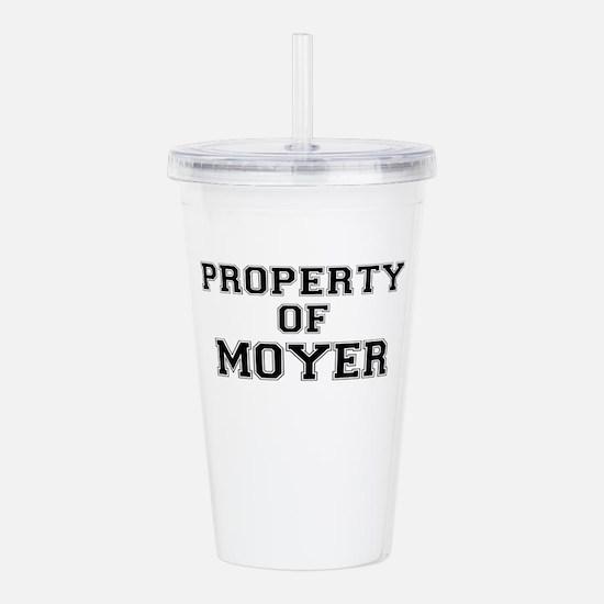 Property of MOYER Acrylic Double-wall Tumbler
