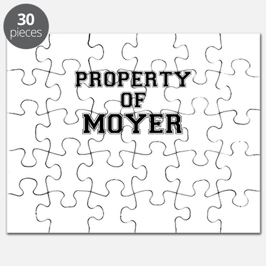 Property of MOYER Puzzle