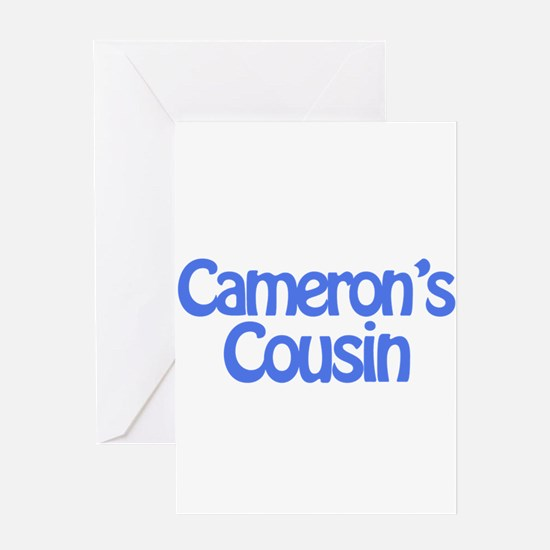 Cameron's Cousin Greeting Card