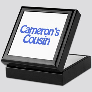 Cameron's Cousin Keepsake Box