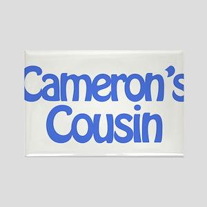 Cameron's Cousin Rectangle Magnet
