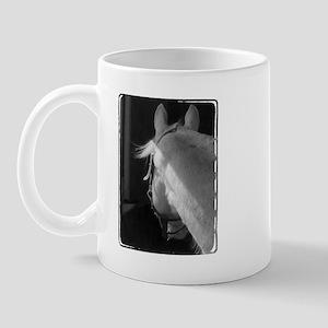 Gray Arabian gelding Mug