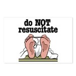RESUSCITATE Postcards (Package of 8)