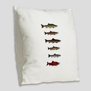 SPECIES Burlap Throw Pillow