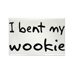 I bent my wookie Rectangle Magnet (10 pack)