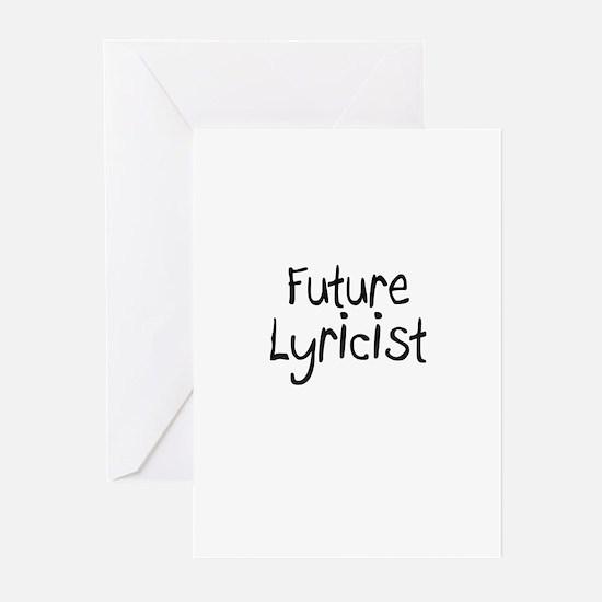 Future Lyricist Greeting Cards (Pk of 10)