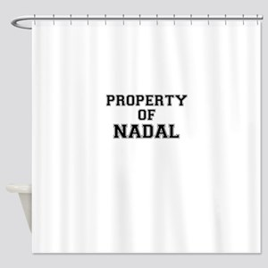 Property of NADAL Shower Curtain