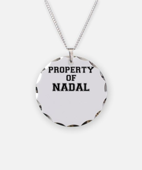 Property of NADAL Necklace