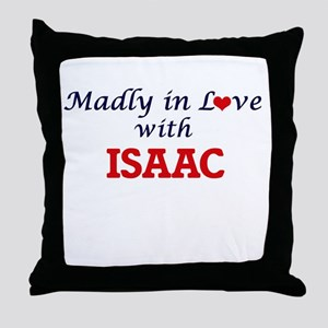 Madly in love with Isaac Throw Pillow