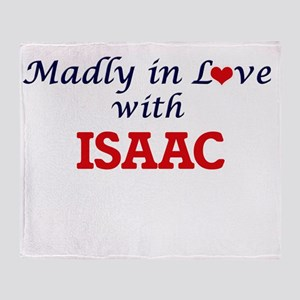 Madly in love with Isaac Throw Blanket