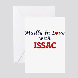 Madly in love with Issac Greeting Cards