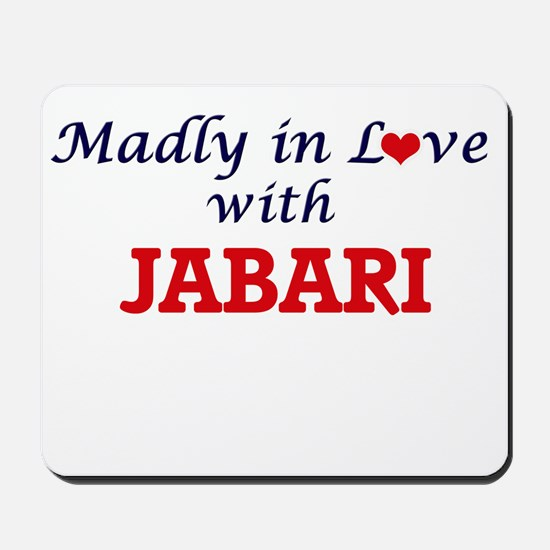 Madly in love with Jabari Mousepad