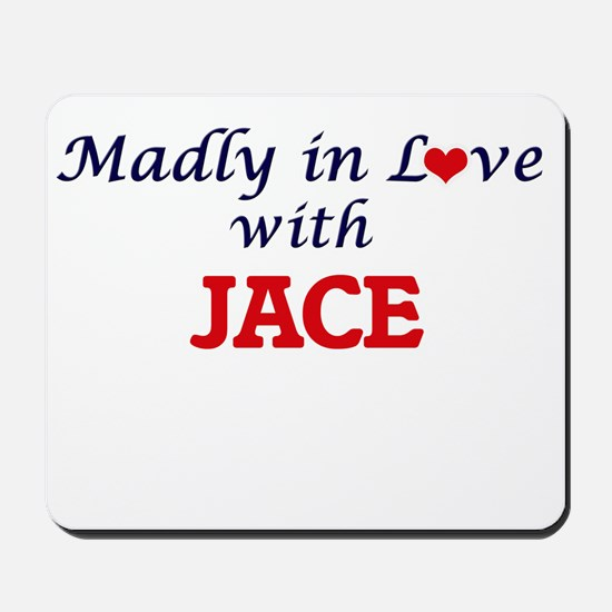 Madly in love with Jace Mousepad