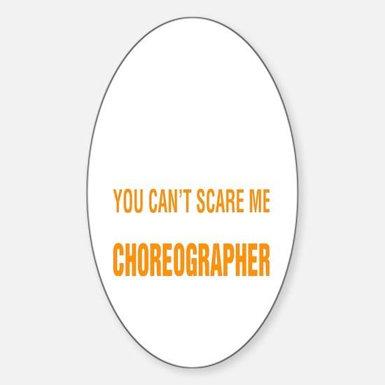 Unique Choreographer Sticker (Oval)