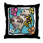 I'm a Virgo Throw Pillow