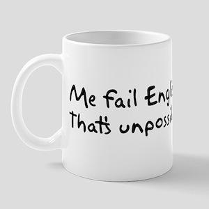 Me Fail English Mug