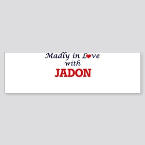 Madly in love with Jadon Bumper Sticker