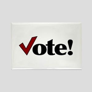 Vote! Rectangle Magnet