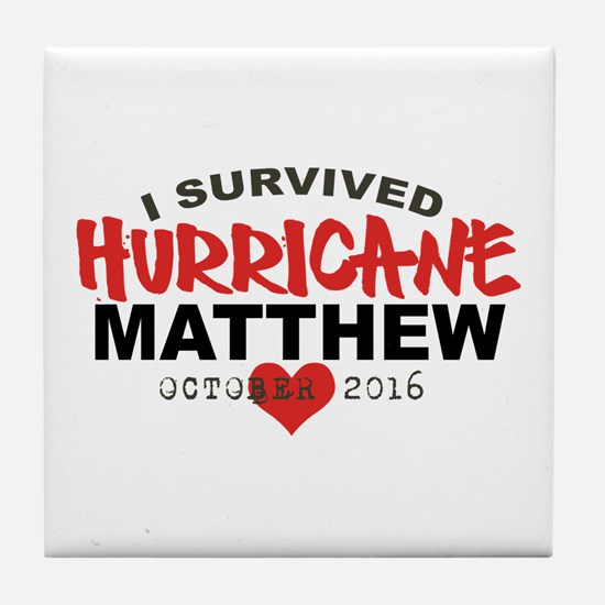 Hurricane Matthew Survivor October 2016 Tile Coast