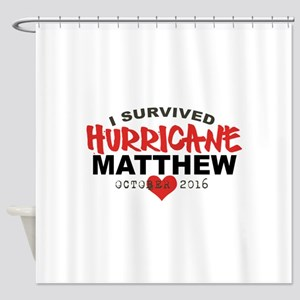 Hurricane Matthew Survivor October 2016 Shower Cur