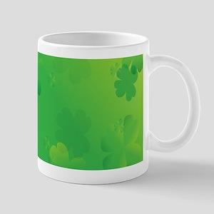 Glowing Shamrocks Mugs