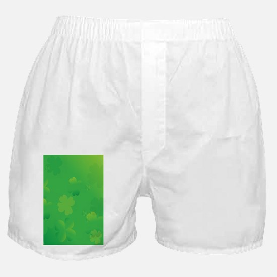 Glowing Shamrocks Boxer Shorts