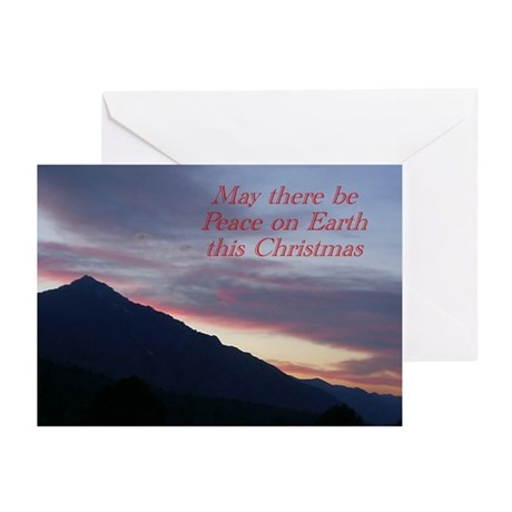 """Peace on Earth"" Christmas Card (Pk of 2"