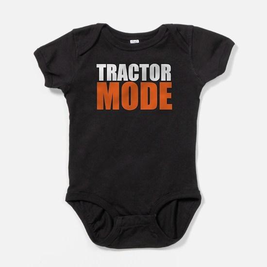 Funny Tractor Baby Bodysuit