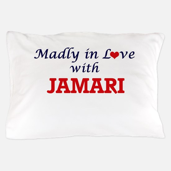 Madly in love with Jamari Pillow Case
