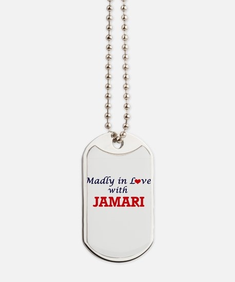 Madly in love with Jamari Dog Tags