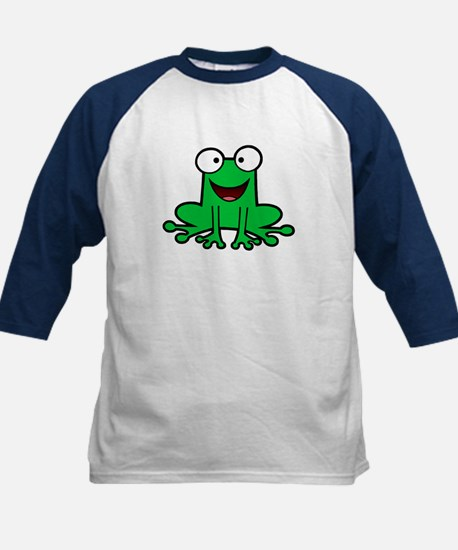 Happy Frog Kids Baseball Jersey