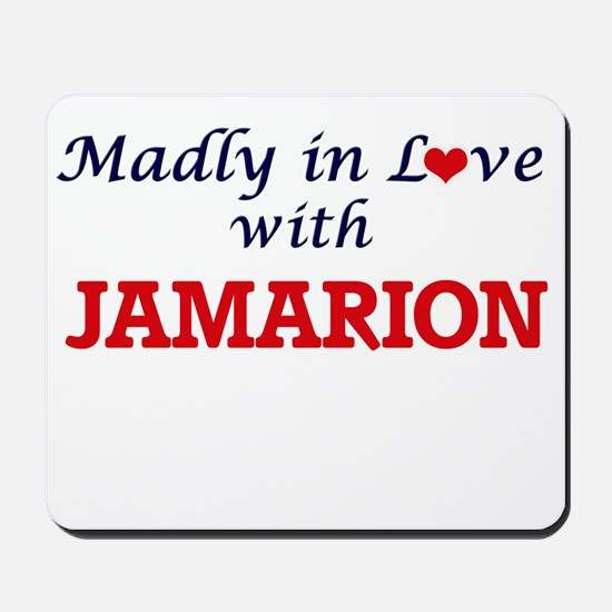 Madly in love with Jamarion Mousepad