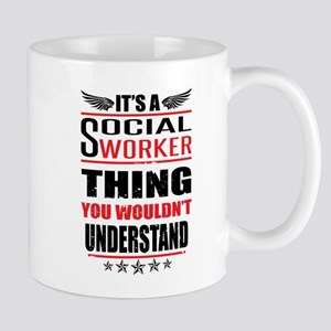Its A Social Worker Thing Mugs