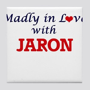 Madly in love with Jaron Tile Coaster