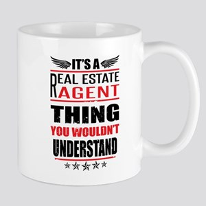 Its A Real Estate Agent Thing Mugs